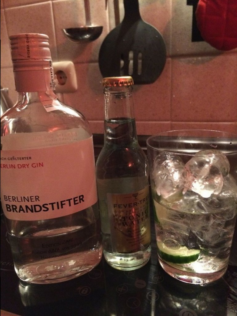 Berliner Brandstifter Fever Tree Gurke