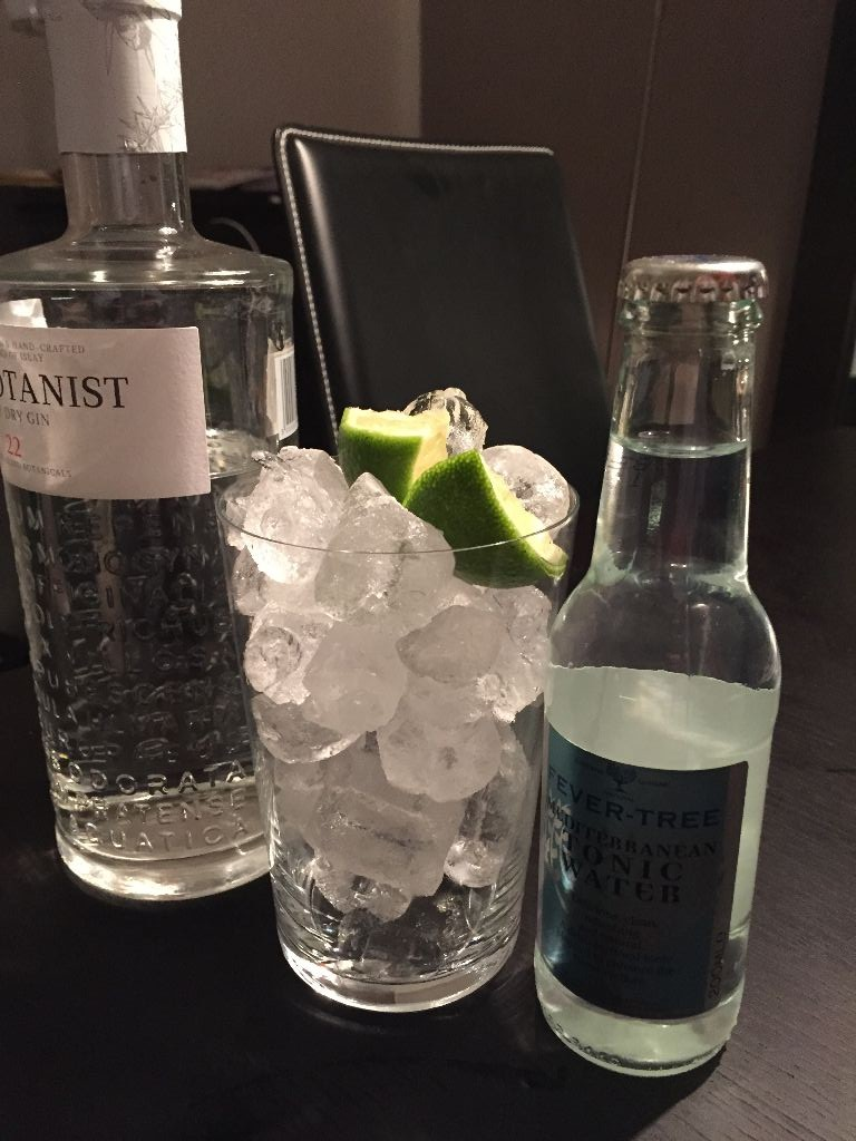 The Botanist, Fever Tree, Limette